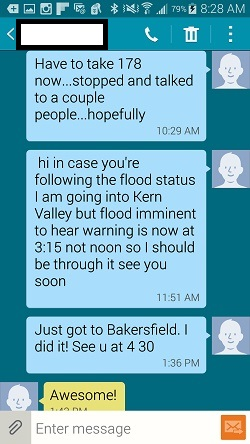 Flood Text Seven